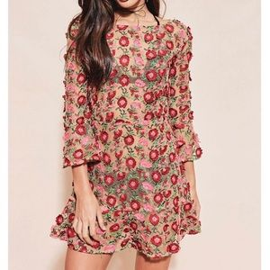 for love and lemons Amelia swing floral dress